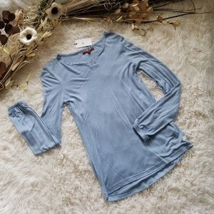 7 For All Mankind Bell Sleeve Tee (Big Girls)
